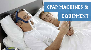 CPAP machines and equipment