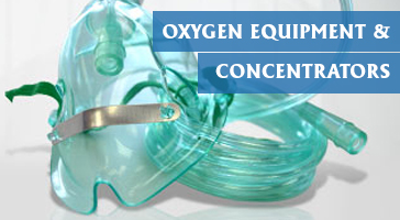 Oxygen equipment and concentrators