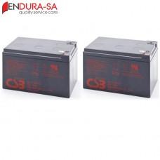 Endura 12Amp/h - 12V Battery Set
