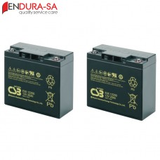 Endura 20Amp/h - 12V Battery Set (Lead Acid)